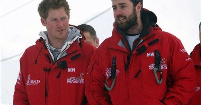 Prince Harry leaves Arctic after runway repairs