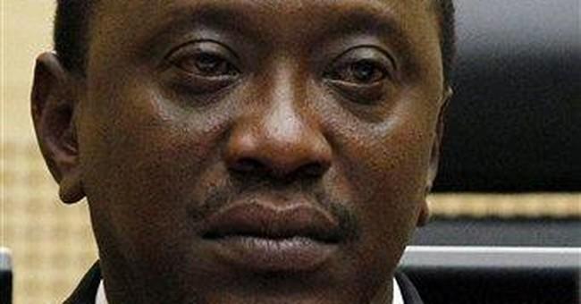 3 leading Kenyans appear at international court