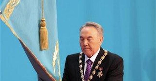 Kazakhstan's president sworn in for new term