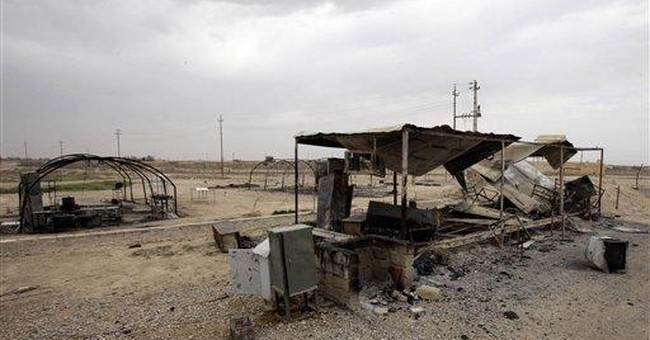 10 dead after Iraqi army raids Iranian exile camp