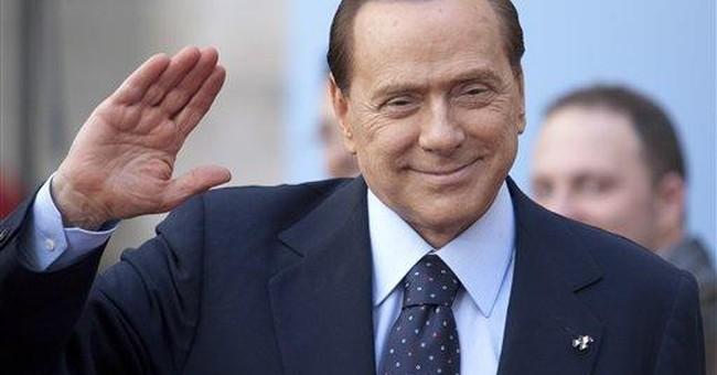 Legal woes? Berlusconi jokes about 'bunga bunga'