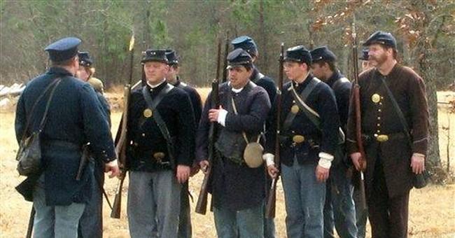 Civil War 150th a lifetime event for re-enactors