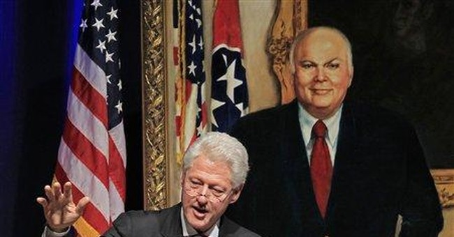 Clinton, Gore remember McWherter at Tenn. service