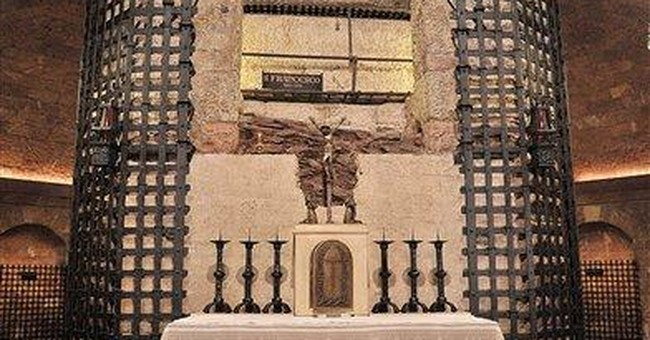 Tomb of beloved St. Francis of Assisi restored