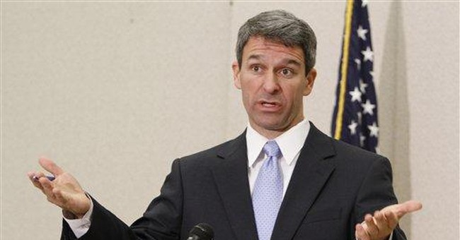 Are Republicans Giving Up on Ken Cuccinelli?