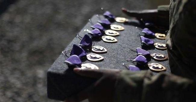 Bury Their Purple Hearts at Ft. Hood