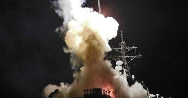 Retaliation: U.S. Launches 60 Tomahawk Missiles Against Syrian Airfield, Possible Source Of Chemical Weapons Attack