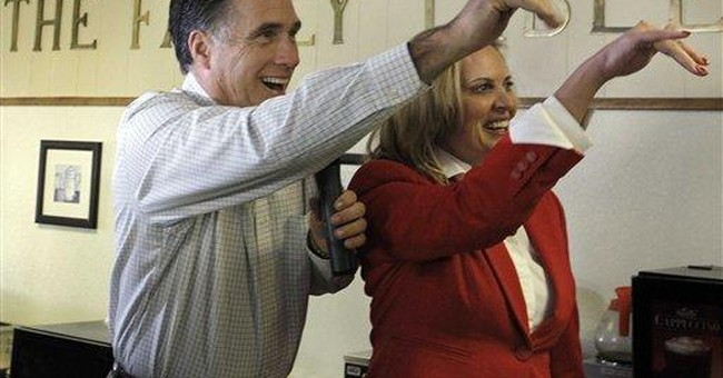 Another day, another rival for Romney