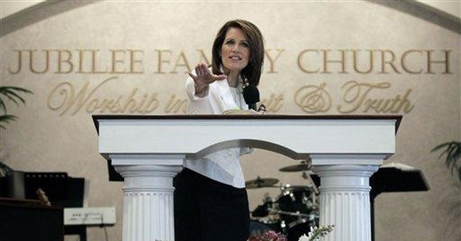 Bachmann, Perry plan to head south after Iowa vote