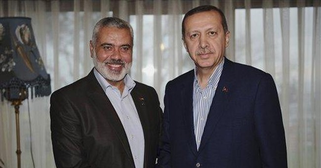 Gaza's Hamas premier visits Turkey
