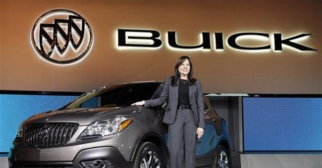 Buick tries to carve out niche for small crossover