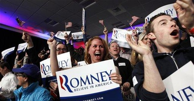 Romney savors NH win, hits Obama right away