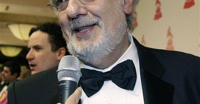 Placido Domingo wins Israel's Wolf Prize