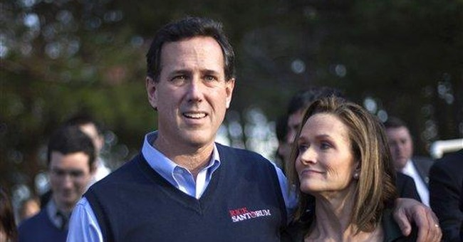 Campaign says Santorum's daughter is recovering