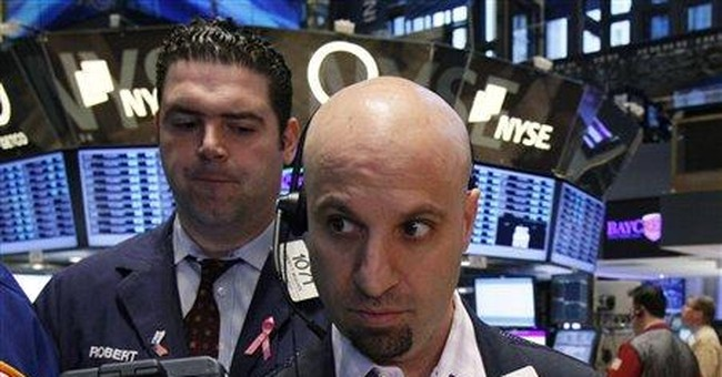 Dow closes below 13,000 for first time in a month