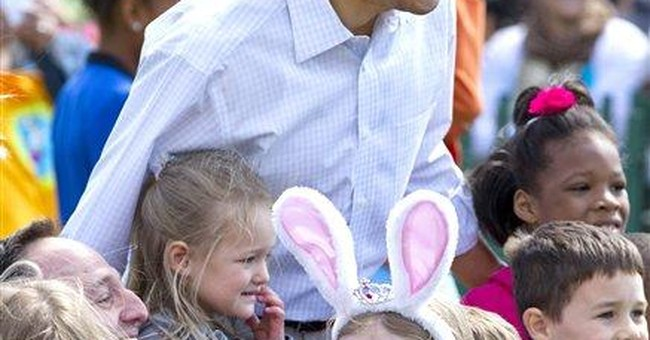 Obama kicks off 134th annual Easter Egg Roll
