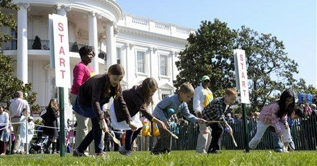 Photo Gallery: Easter eggs roll at White House
