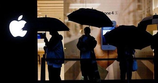 Apple market value hits $600B
