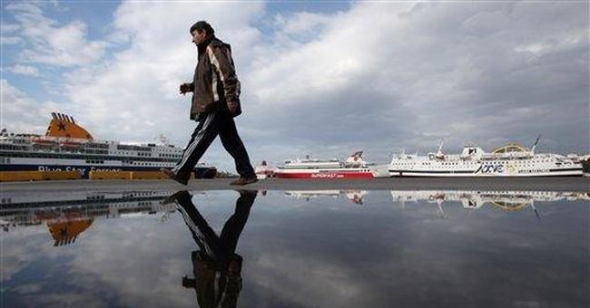 Strikes halt Greek ferries before Orthodox Easter