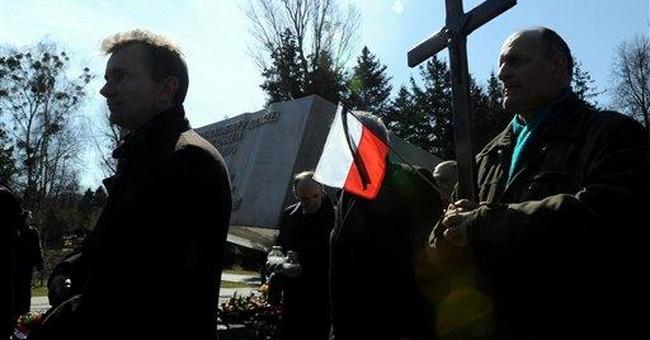 Poland honors president killed in 2010 plane crash