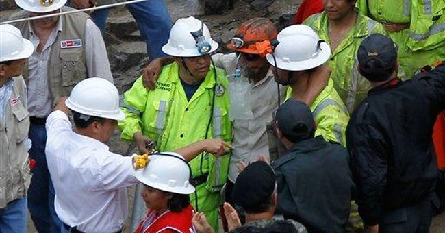 Peruvian miners tell of anguish, hope inside mine
