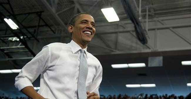 Obama acknowledges the obvious: He has an opponent