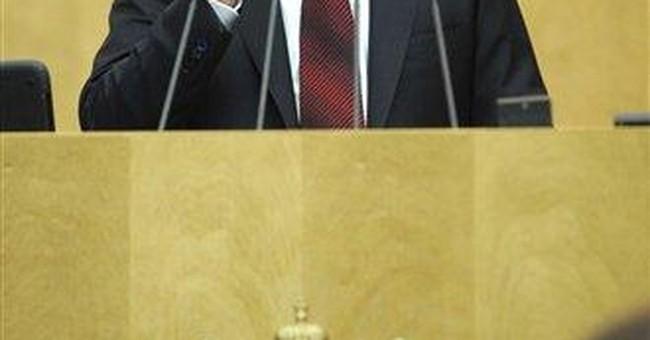 Putin calls NATO 'relic of the Cold War'