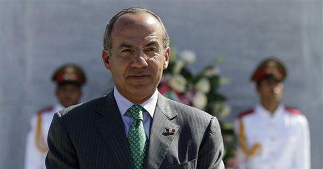 Mexico's President Calderon in Cuba for talks