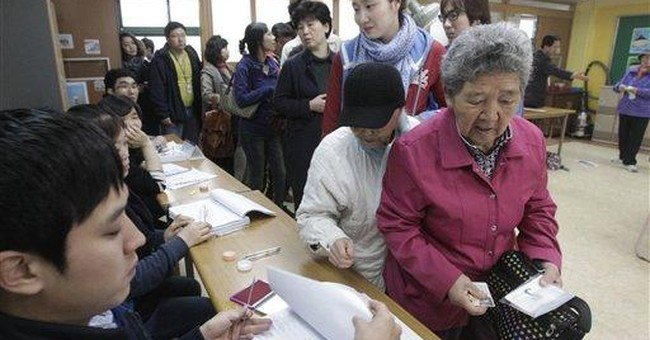 SKorea ruling party wins polls amid NKorea tension