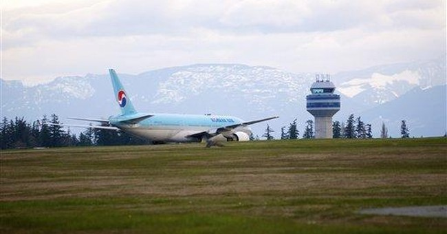 No bomb found on Korean Airlines jetliner
