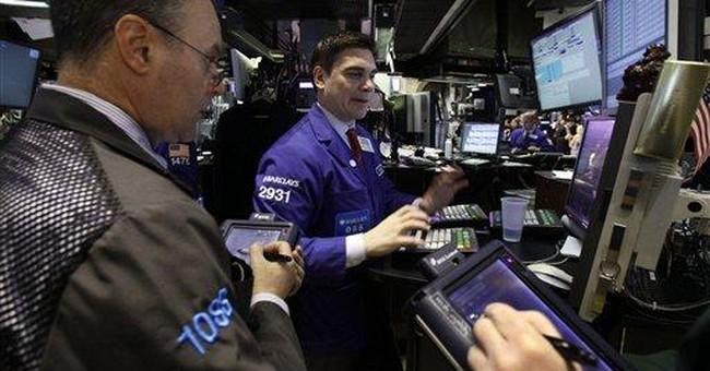 Stocks make a U-turn, rising after big decline