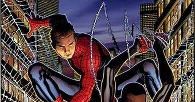 Spidey who? Peter Parker, Miles Morales cross over