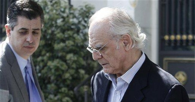 Greek ex-minister held on money-laundering charge