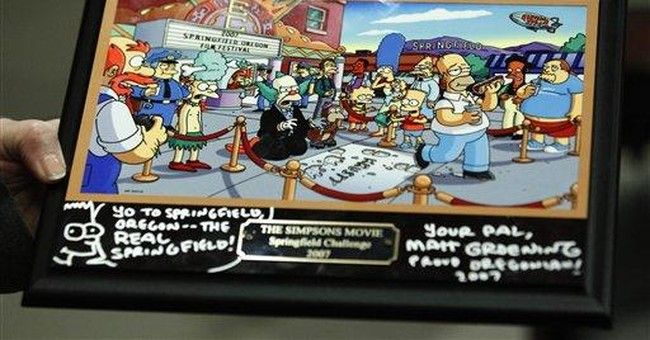 'Simpsons' creator: Ore. town inspired Springfield