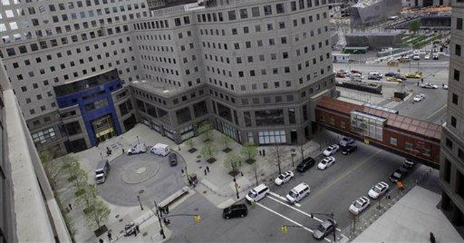Toy grenade prompts NYC office building evacuation