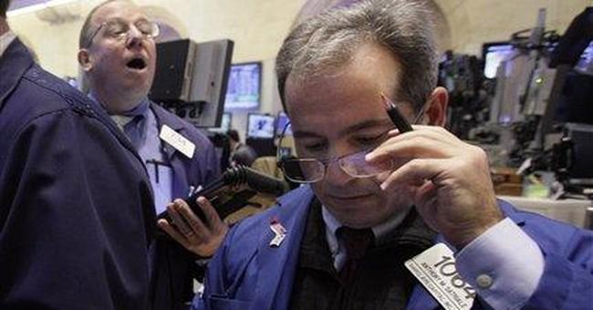 Stocks surge; Hewlett-Packard leads Dow higher