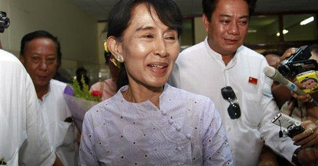 Suu Kyi party finds lawmakers' oath unacceptable