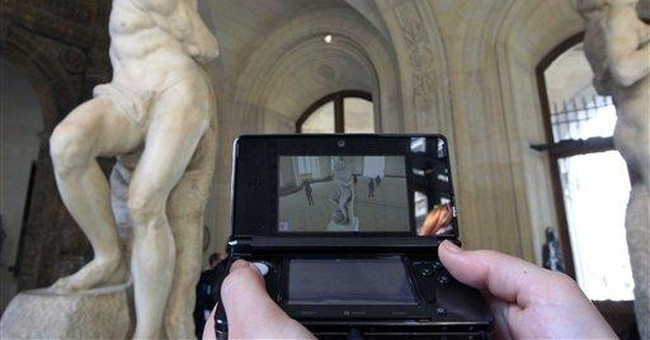 Louvre goes visual with Nintendo 3Ds guide