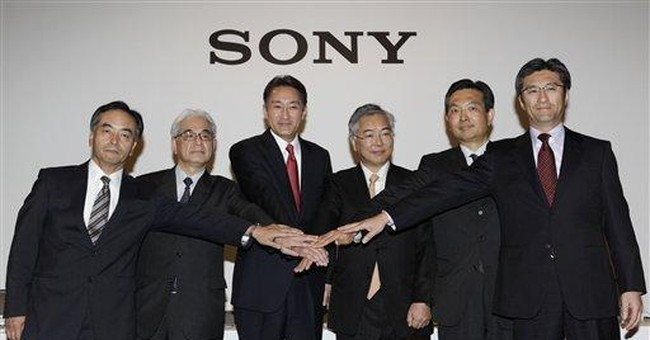 Sony to cut 10,000 jobs, turn around TV business