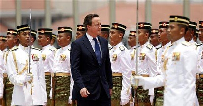 British PM signals openness on Myanmar sanctions