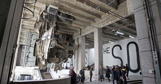 Europe's biggest contemporary art center opens