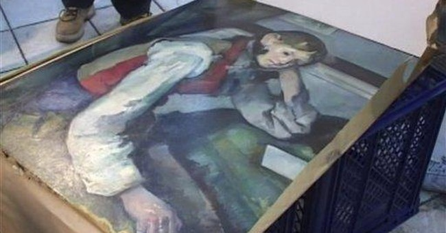 Police find stolen Cezanne painting in Serbia