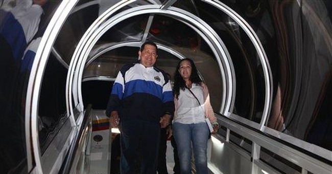 Chavez says he's 'doing very well' after treatment