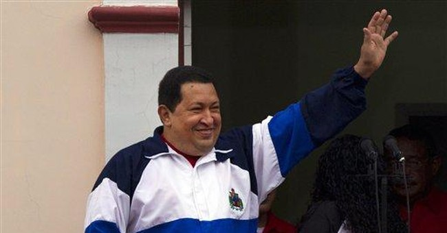 Chavez rallies supporters marking coup anniversary