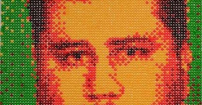 Artist creates Zimmerman portrait with Skittles