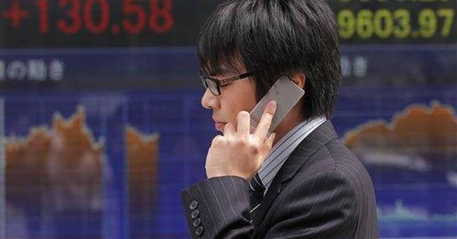 Weak Chinese data weighs on markets