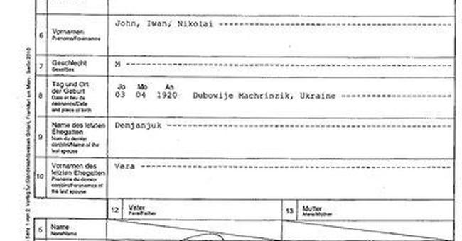 Gov't: Nothing new in Demjanjuk citizenship case