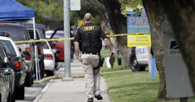 Police: Guns show CA suspect set for confrontation