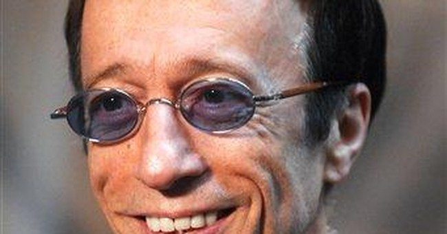 Robin Gibb in coma with pneumonia in hospital