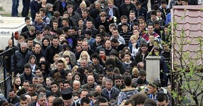 Macedonia mourns 5 men, fears ethnic tensions